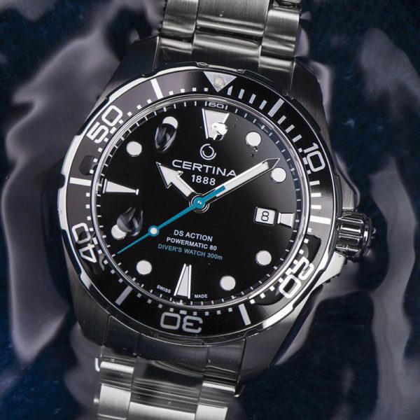 Мужские наручные часы CERTINA Aqua DS Action Diver Powermatic 80 Sea Turtle Conservancy Special Edition C032.407.11.051.10 - Фото № 12