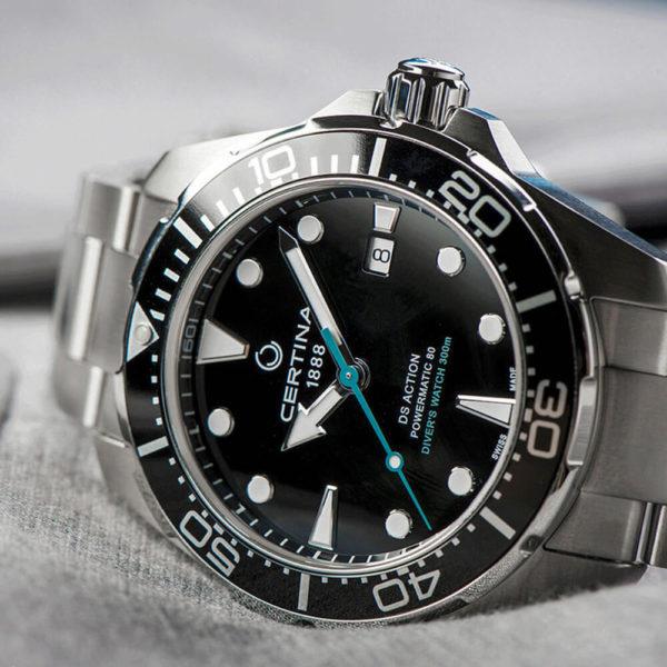 Мужские наручные часы CERTINA Aqua DS Action Diver Powermatic 80 Sea Turtle Conservancy Special Edition C032.407.11.051.10 - Фото № 14
