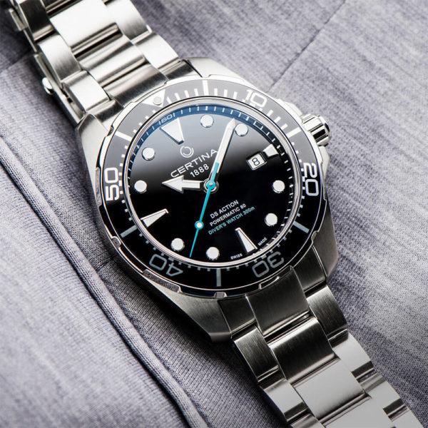 Мужские наручные часы CERTINA Aqua DS Action Diver Powermatic 80 Sea Turtle Conservancy Special Edition C032.407.11.051.10 - Фото № 13