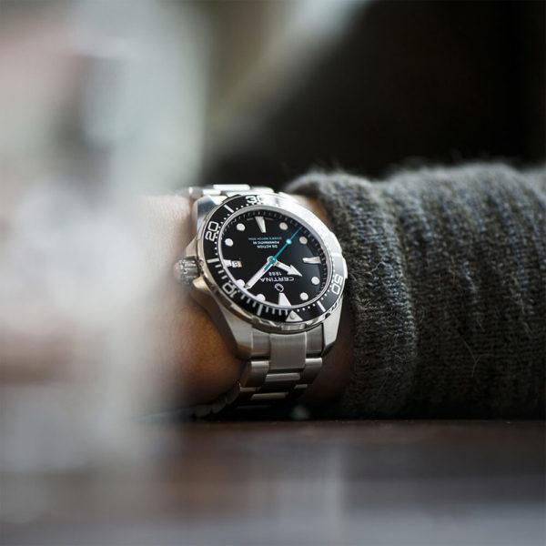Мужские наручные часы CERTINA Aqua DS Action Diver Powermatic 80 Sea Turtle Conservancy Special Edition C032.407.11.051.10 - Фото № 11