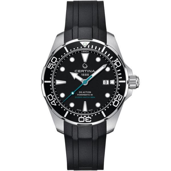 Мужские наручные часы CERTINA Aqua DS Action Diver Powermatic 80 Sea Turtle Conservancy Special Edition C032.407.17.051.60 - Фото № 9
