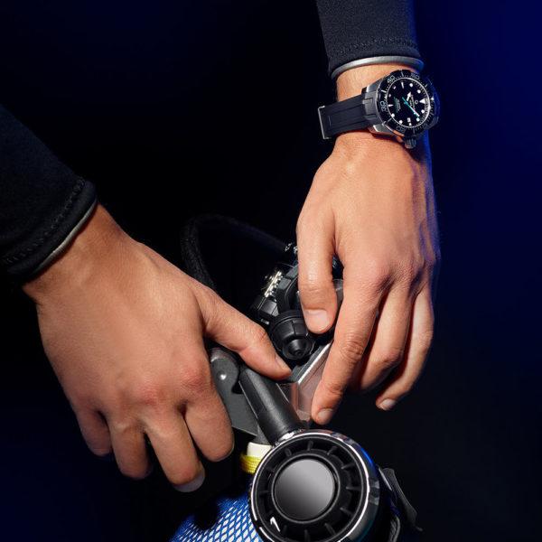 Мужские наручные часы CERTINA Aqua DS Action Diver Powermatic 80 Sea Turtle Conservancy Special Edition C032.407.17.051.60 - Фото № 14