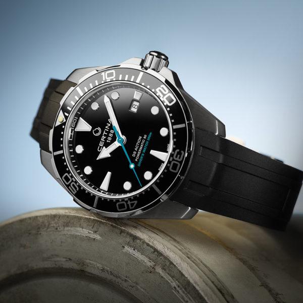 Мужские наручные часы CERTINA Aqua DS Action Diver Powermatic 80 Sea Turtle Conservancy Special Edition C032.407.17.051.60 - Фото № 12
