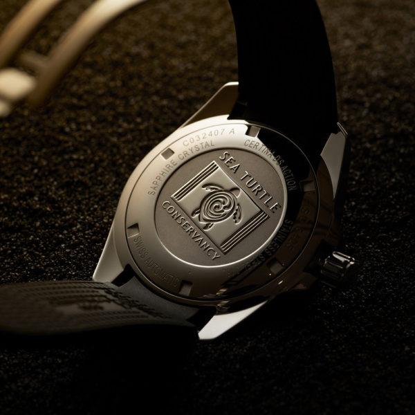Мужские наручные часы CERTINA Aqua DS Action Diver Powermatic 80 Sea Turtle Conservancy Special Edition C032.407.17.051.60 - Фото № 16