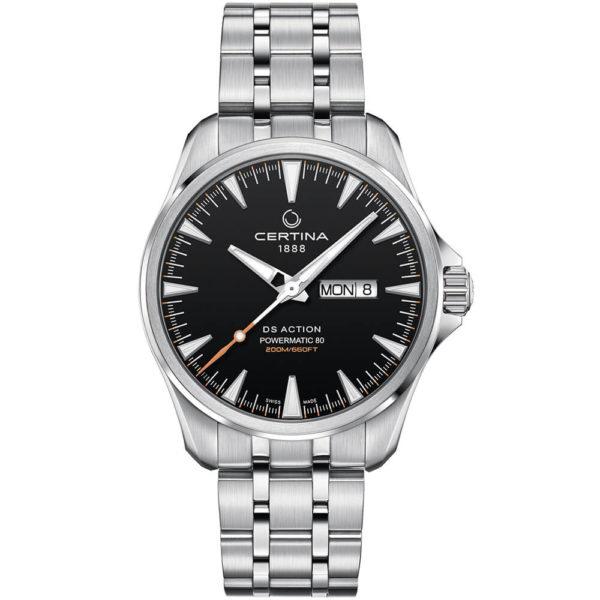 Мужские наручные часы CERTINA Aqua DS Action Day-Date Powermatic 80 C032.430.11.051.00