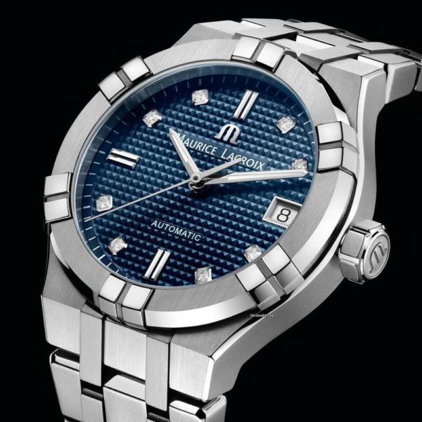 Женские наручные часы MAURICE LACROIX Aikon Automatic AI6006-SS002-450-1 - Фото № 10