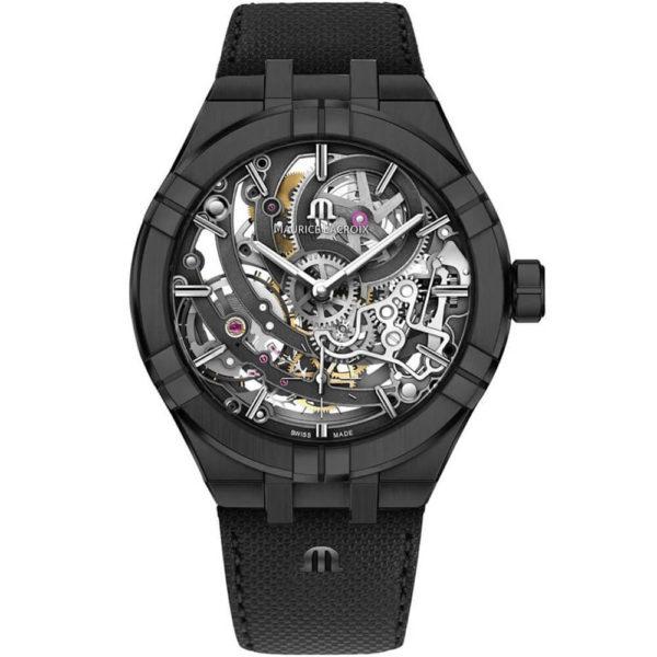 Мужские наручные часы MAURICE LACROIX Aikon Automatic Skeleton Manufacture AI6028-PVB01-030-1
