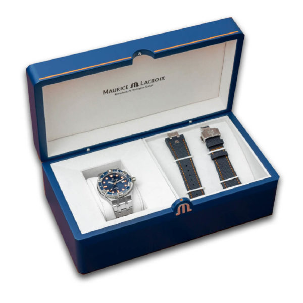 Мужские наручные часы MAURICE LACROIX Aikon Venturer Limited Edition AI6058-SS002-431-1 - Фото № 8