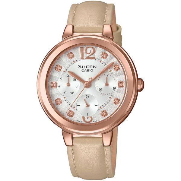 Женские наручные часы CASIO Sheen SHE-3048PGL-7BUER