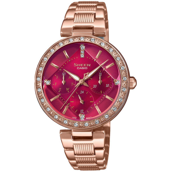 Женские наручные часы CASIO Sheen SHE-3068PG-4BUER