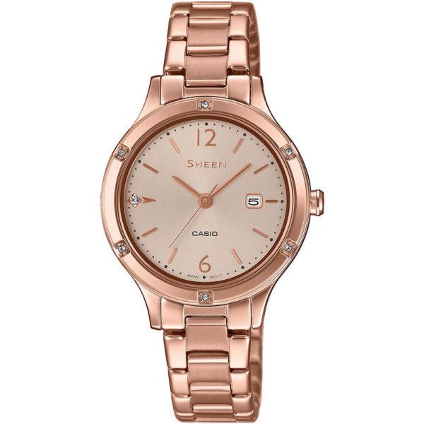 Женские наручные часы CASIO Sheen SHE-4533PG-4AUER