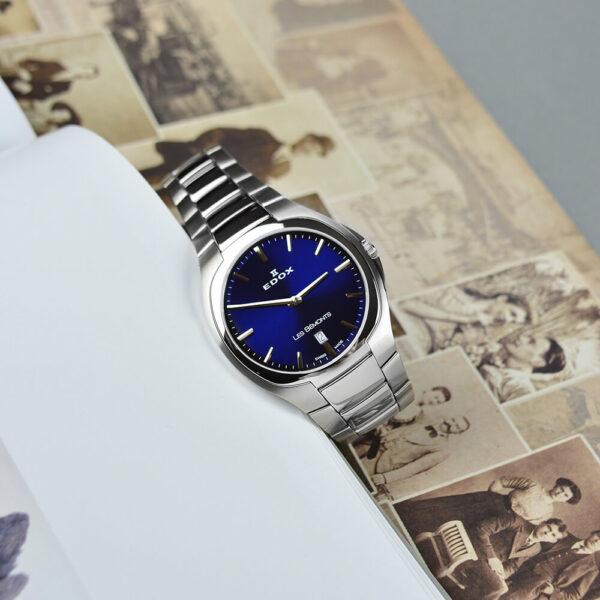 Мужские наручные часы EDOX Les Bemonts 56003 3 BUIN - Фото № 9