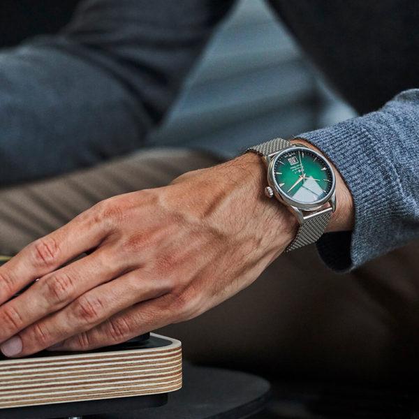 Мужские наручные часы CERTINA Heritage DS-1 Big Date Powermatic 80 C029.426.11.091.60 - Фото № 11