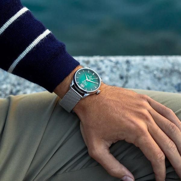 Мужские наручные часы CERTINA Heritage DS-1 Big Date Powermatic 80 C029.426.11.091.60 - Фото № 14