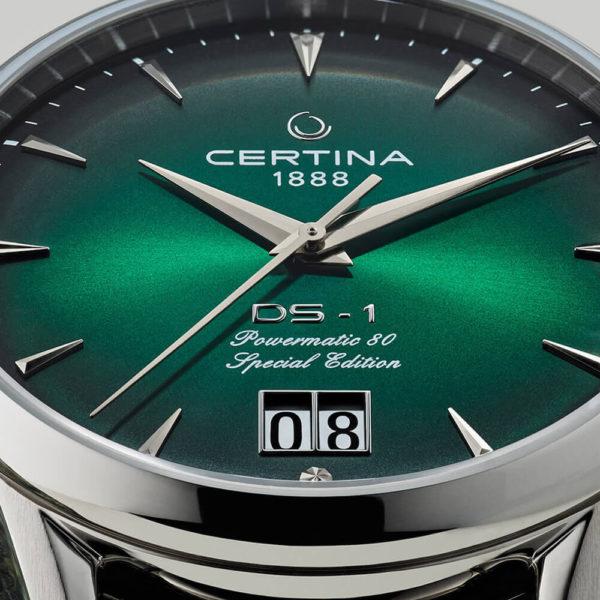 Мужские наручные часы CERTINA Heritage DS-1 Big Date Powermatic 80 C029.426.11.091.60 - Фото № 13