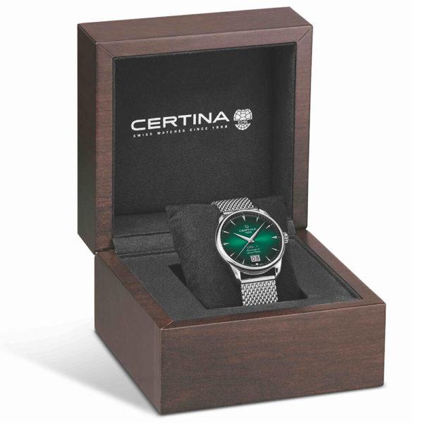Мужские наручные часы CERTINA Heritage DS-1 Big Date Powermatic 80 C029.426.11.091.60 - Фото № 17