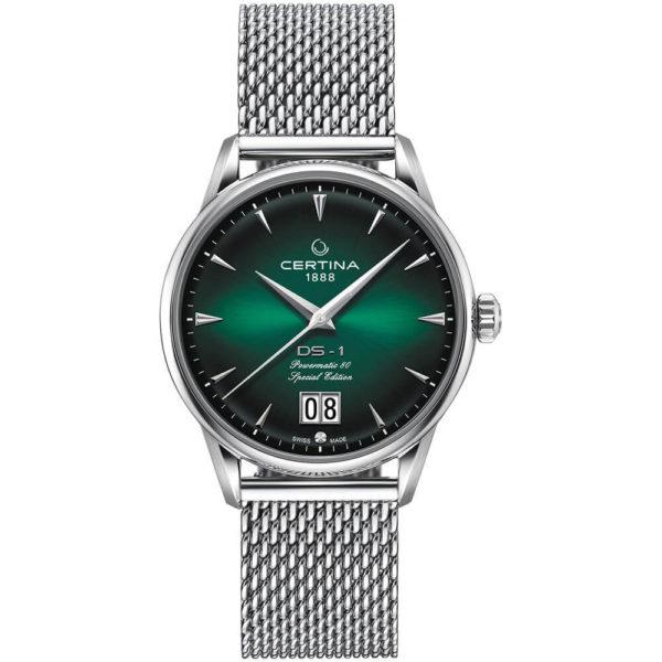 Мужские наручные часы CERTINA Heritage DS-1 Big Date Powermatic 80 C029.426.11.091.60 - Фото № 9