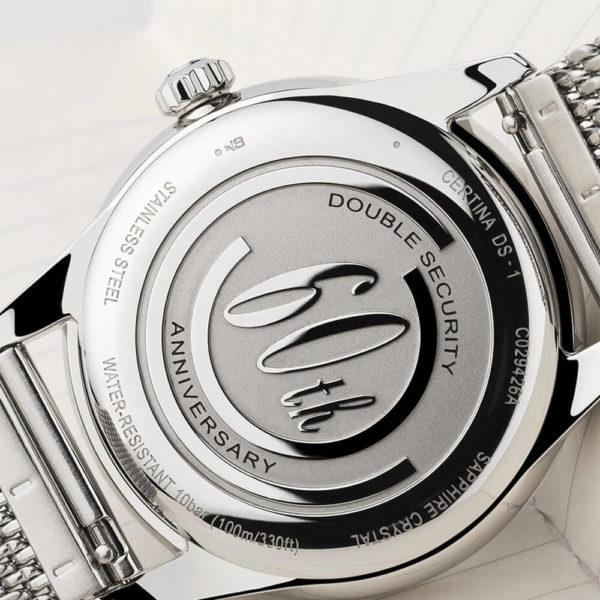 Мужские наручные часы CERTINA Heritage DS-1 Big Date Powermatic 80 C029.426.11.091.60 - Фото № 15