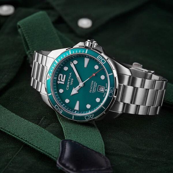 Мужские наручные часы CERTINA Aqua  DS Action C032.451.11.097.00 - Фото № 9
