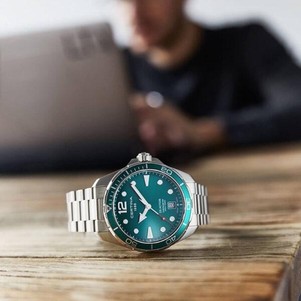 Мужские наручные часы CERTINA Aqua  DS Action C032.451.11.097.00 - Фото № 7