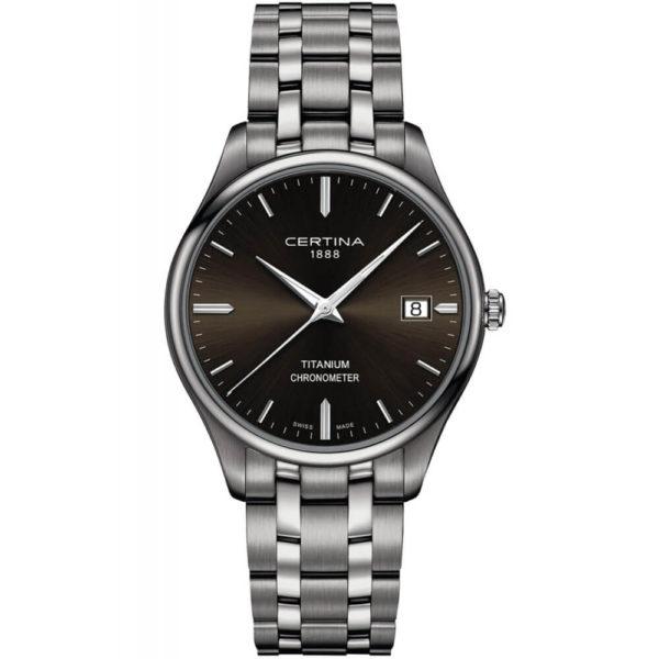 Мужские наручные часы CERTINA Urban DS-8 Titanium Chronometer C033.451.44.081.00