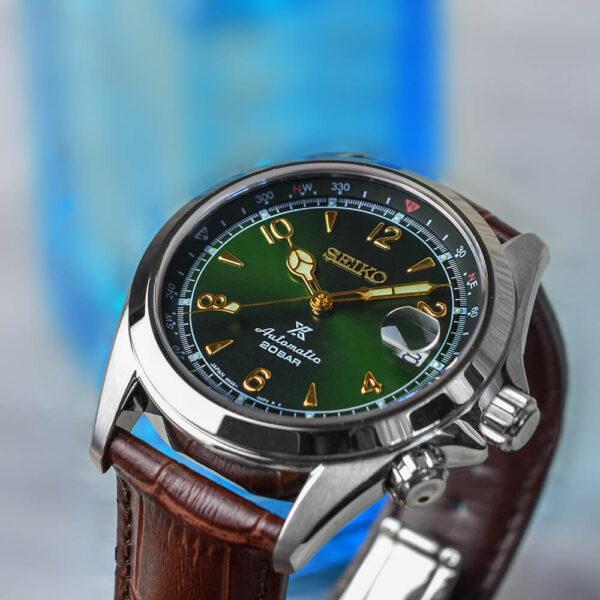 Мужские наручные часы SEIKO Prospex Alpinist SPB121J1 - Фото № 12