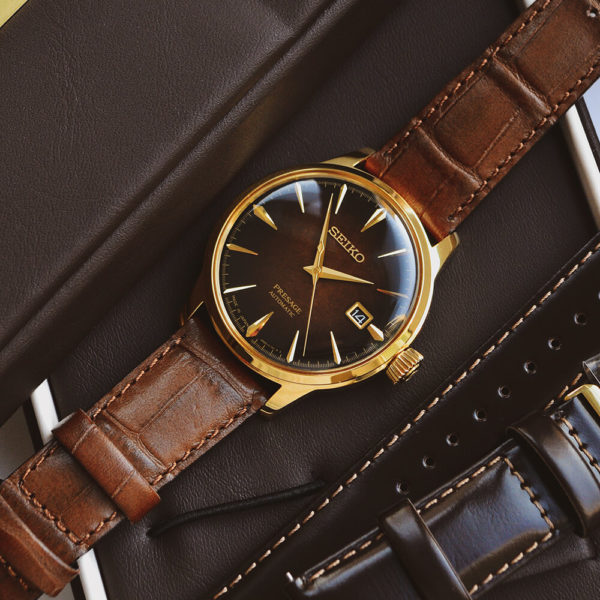Мужские наручные часы SEIKO Presage Cocktail Time Old Fashioned Limited Edition SRPD36J1 - Фото № 12