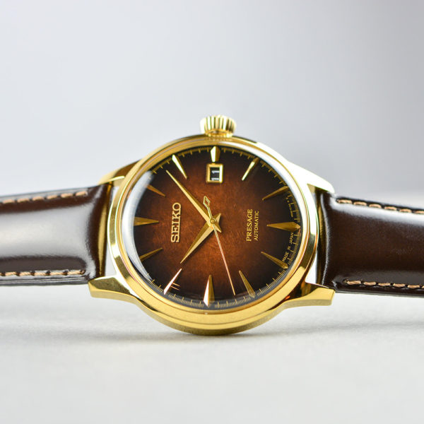 Мужские наручные часы SEIKO Presage Cocktail Time Old Fashioned Limited Edition SRPD36J1 - Фото № 11