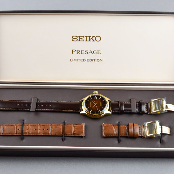 Мужские наручные часы SEIKO Presage Cocktail Time Old Fashioned Limited Edition SRPD36J1 - Фото № 10