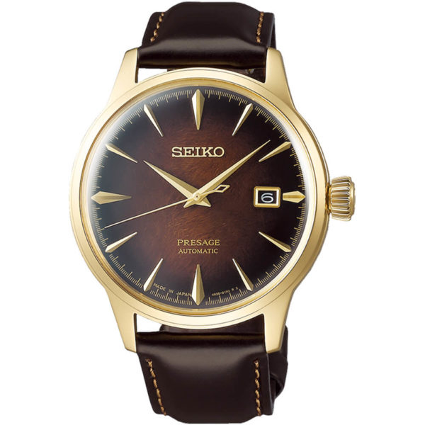 Мужские наручные часы SEIKO Presage Cocktail Time Old Fashioned Limited Edition SRPD36J1 - Фото № 7