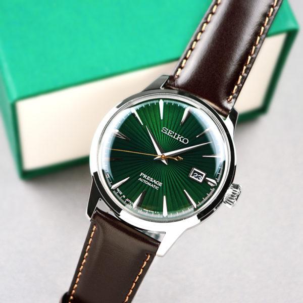Мужские наручные часы SEIKO Presage Cocktail Time Mockingbird SRPD37J1 - Фото № 12