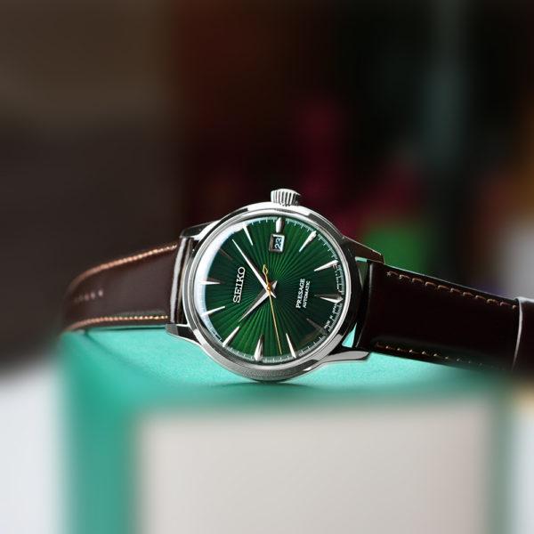 Мужские наручные часы SEIKO Presage Cocktail Time Mockingbird SRPD37J1 - Фото № 10