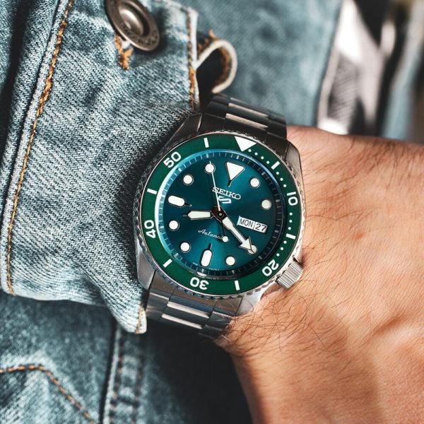 Мужские наручные часы SEIKO Seiko 5 Sports SRPD61K1 - Фото № 9
