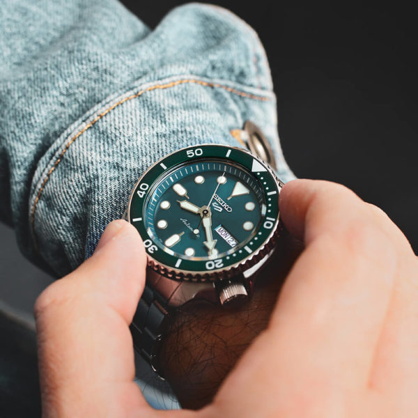 Мужские наручные часы SEIKO Seiko 5 Sports SRPD61K1 - Фото № 10