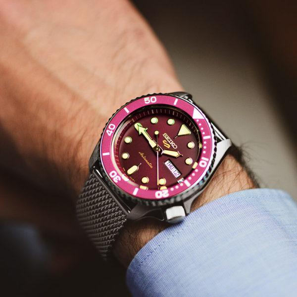 Мужские наручные часы SEIKO Seiko 5 Suits SRPD69K1 - Фото № 9