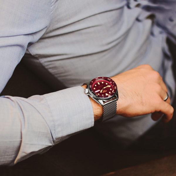 Мужские наручные часы SEIKO Seiko 5 Suits SRPD69K1 - Фото № 10
