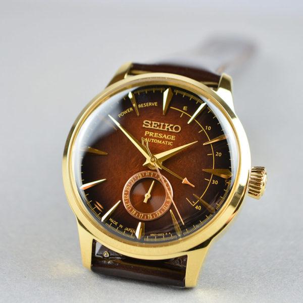 Мужские наручные часы SEIKO Presage Cocktail Time Old Fashioned Limited Edition SSA392J1 - Фото № 7
