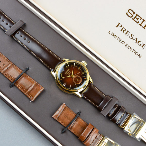Мужские наручные часы SEIKO Presage Cocktail Time Old Fashioned Limited Edition SSA392J1 - Фото № 8