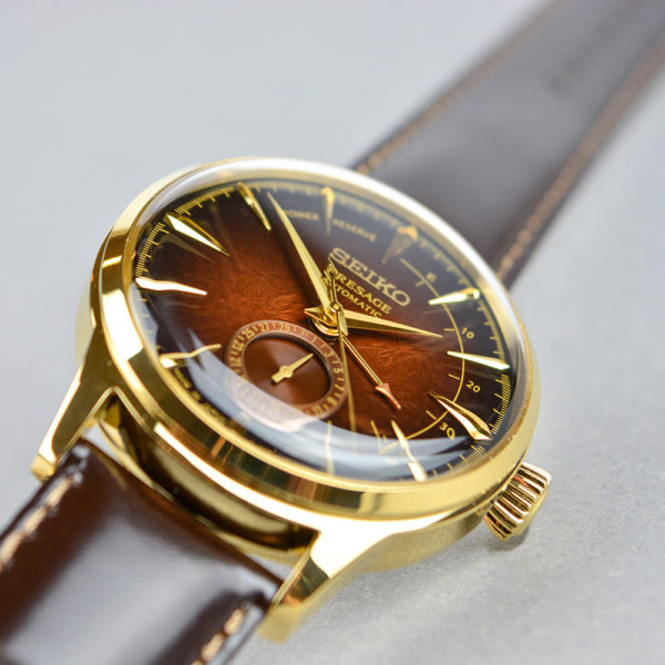 Мужские наручные часы SEIKO Presage Cocktail Time Old Fashioned Limited Edition SSA392J1 - Фото № 9