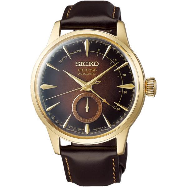 Мужские наручные часы SEIKO Presage Cocktail Time Old Fashioned Limited Edition SSA392J1 - Фото № 5