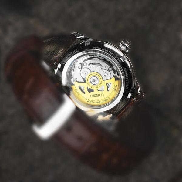 Мужские наручные часы SEIKO Presage Cocktail Time Black Cat Martini SSA393J1 - Фото № 12
