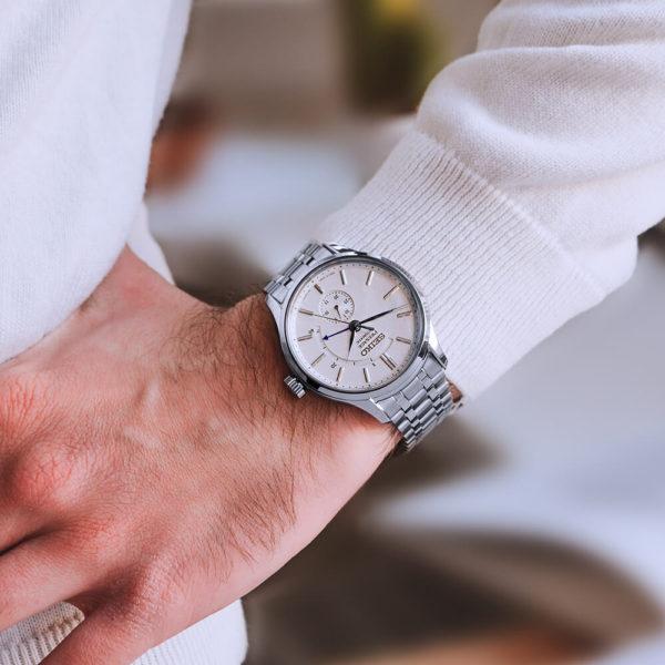 Мужские наручные часы SEIKO Presage Japanese Garden SSA395J1 - Фото № 9
