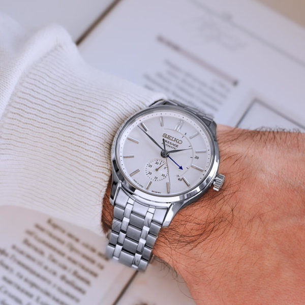 Мужские наручные часы SEIKO Presage Japanese Garden SSA395J1 - Фото № 10