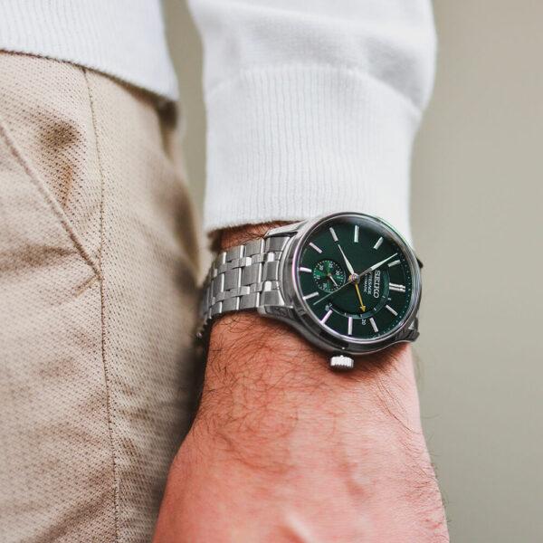 Мужские наручные часы SEIKO Presage Japanese Garden SSA397J1 - Фото № 11