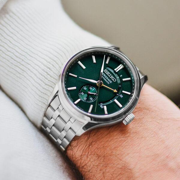 Мужские наручные часы SEIKO Presage Japanese Garden SSA397J1 - Фото № 9
