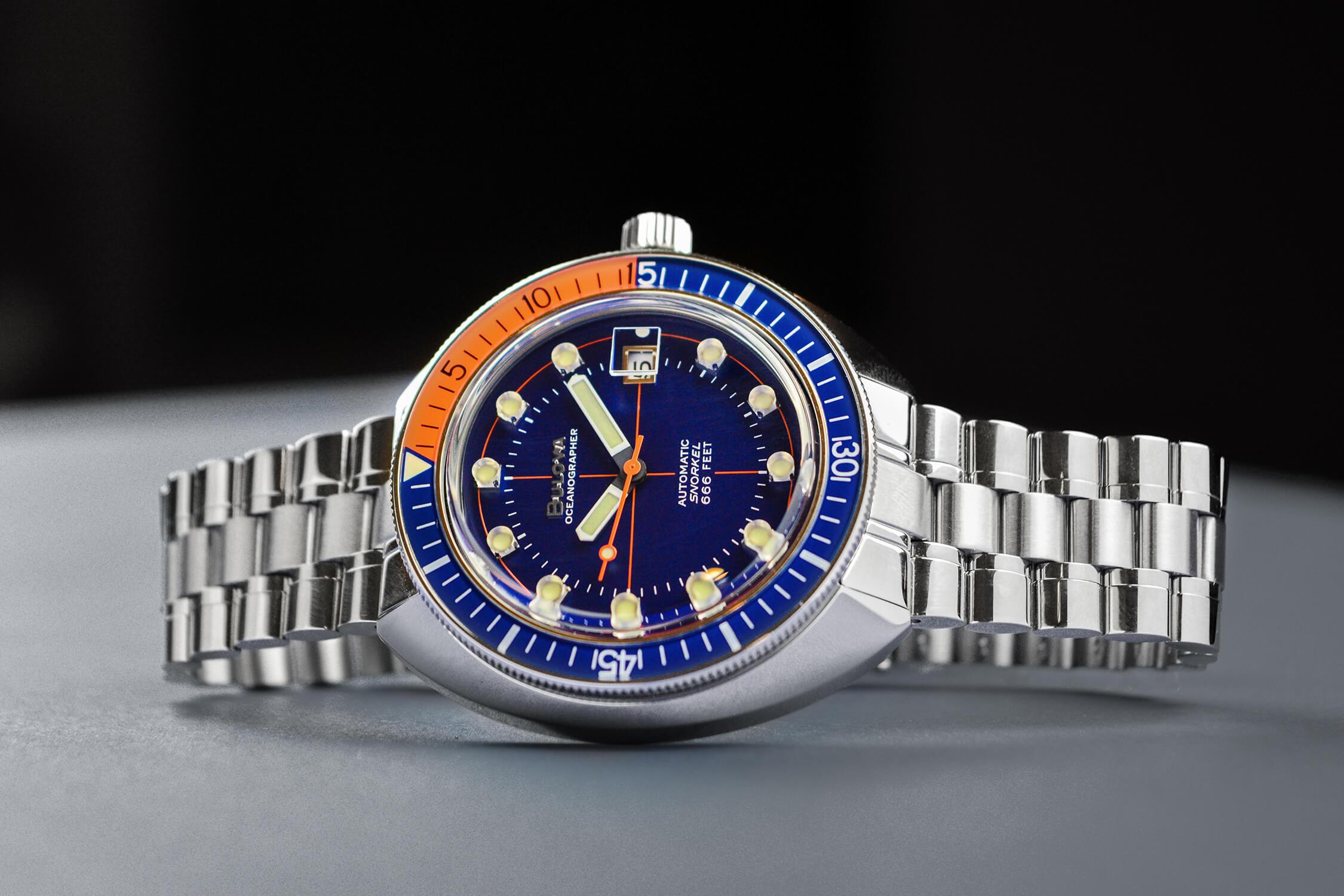 bulova oceanoghrapher 96B321