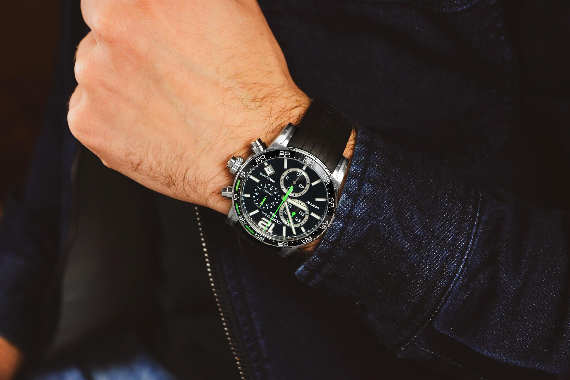 часы сертина DS-2 C027.417.17.057.01
