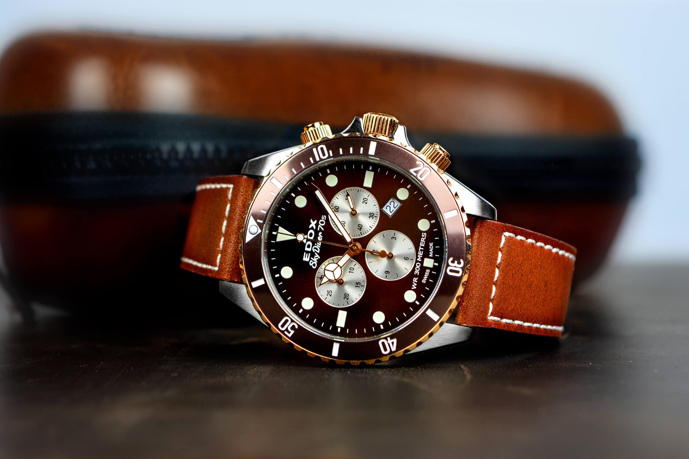 часы edox skydiver 10238 357RBRC BRIA