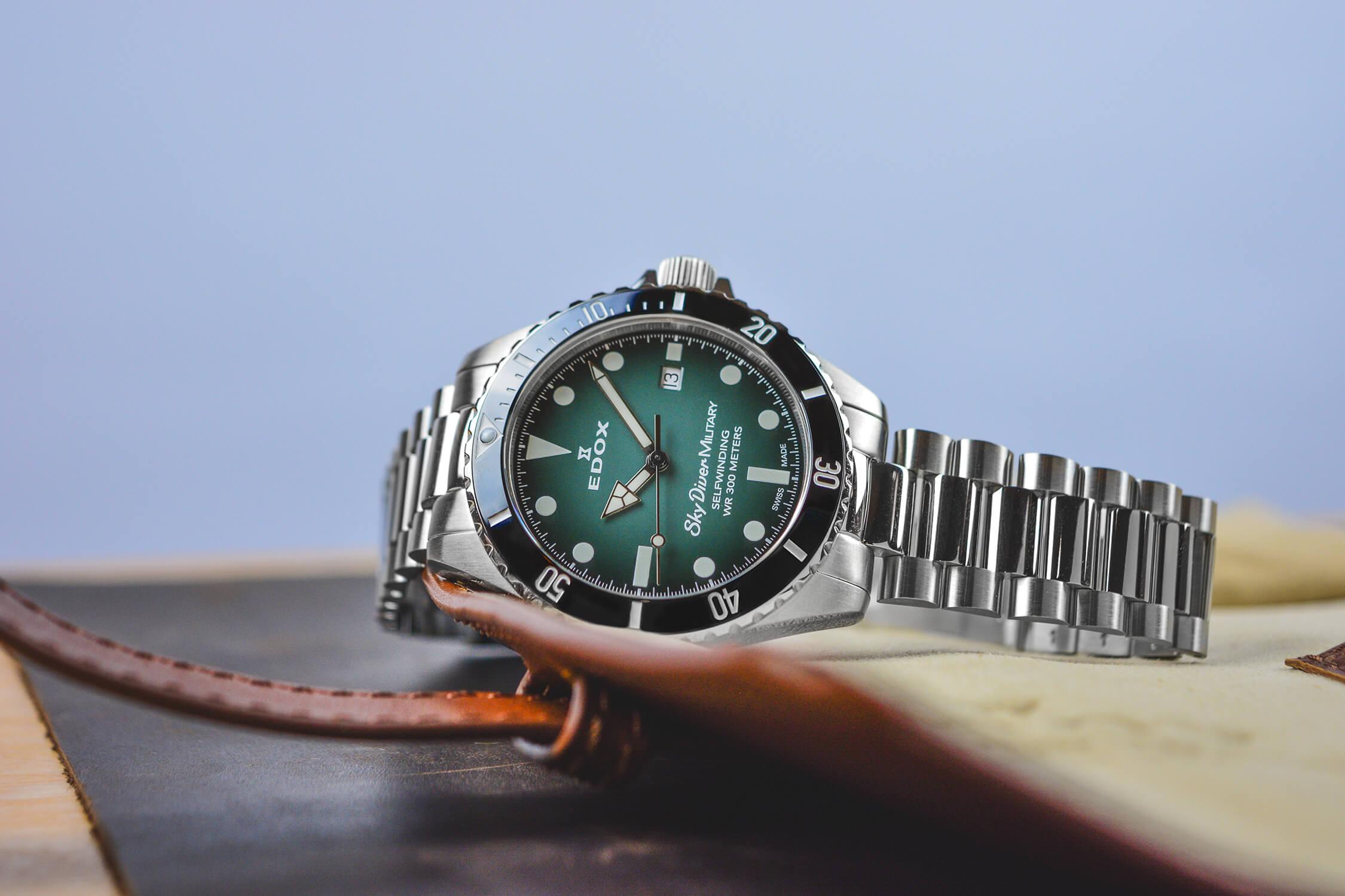 лимитированные часы edox skydiver 80115 3N VD