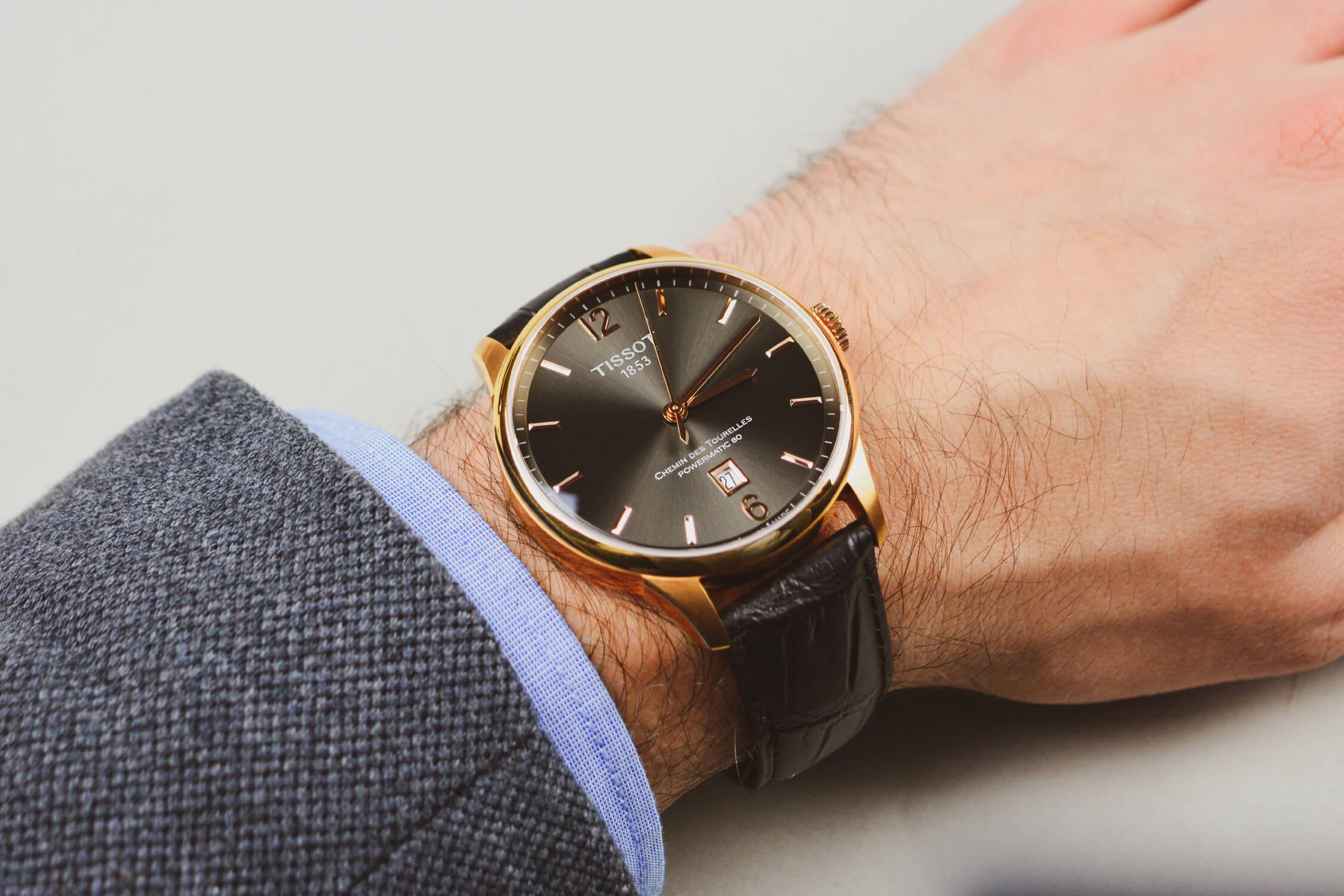 часы TISSOT Chemin des Tourelles T099.407.36.447.00